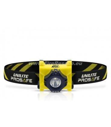 UNILITE PROSAFE ATEX-H1 ZONE 0 LED HEAD TORCH