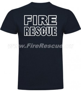FIRERESCUE T-SHIRT - BLUE